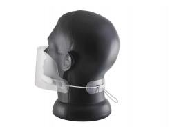 Маска защитная пластиковая для лица S-Screen Standart Mouthplex 01 - изображение 3 - интернет-магазин tricolor.com.ua