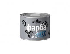 Автоэмаль для дисков New Ton светлое серебро (банка)