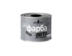 Краска структурная для пластика New Ton черная (банка)