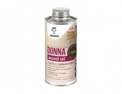 Масло для деревянных поверхностей внутри помещений шелковисто-матовое Teknos Donna прозрачное