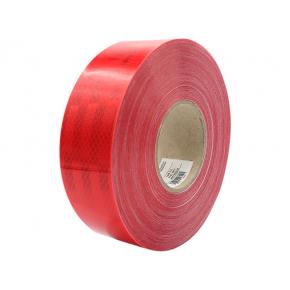 Лента светоотражающая 3М Diamond Grade 983-72 54мм/50м красная для маркировки транспорта