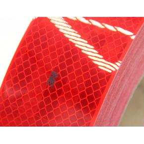 Лента светоотражающая 3М Diamond Grade 983-72 54мм/50м красная для маркировки транспорта - изображение 3 - интернет-магазин tricolor.com.ua