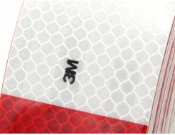 Лента светоотражающая 3М Diamond Grade 983-32 54мм/1м красно-белая для маркировки транспорта - изображение 3 - интернет-магазин tricolor.com.ua