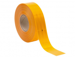 Лента светоотражающая 3М Diamond Grade 983-71 54мм/1м желтая для маркировки транспорта - интернет-магазин tricolor.com.ua