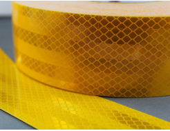 Лента светоотражающая 3М Diamond Grade 983-71 54мм/1м желтая для маркировки транспорта - изображение 2 - интернет-магазин tricolor.com.ua