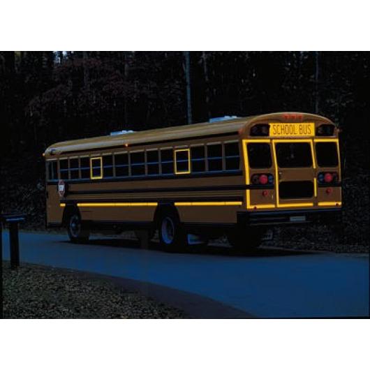 Лента светоотражающая 3М Diamond Grade 983-71 54мм/1м желтая для маркировки транспорта - изображение 3 - интернет-магазин tricolor.com.ua