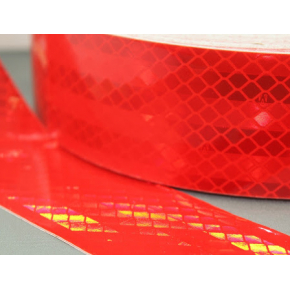 Лента светоотражающая 3М Diamond Grade 997-72 54мм/1м красная для маркировки тентов - изображение 2 - интернет-магазин tricolor.com.ua