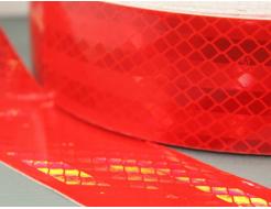 Лента светоотражающая 3М Diamond Grade 997-72 54мм/50м красная для маркировки тентов - изображение 2 - интернет-магазин tricolor.com.ua