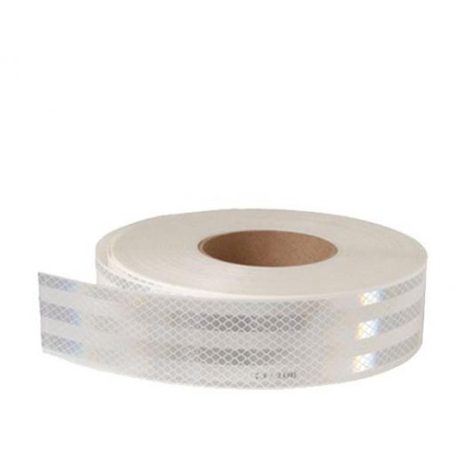 Лента светоотражающая 3М Diamond Grade 997-10 54мм/1м белая для маркировки тентов - интернет-магазин tricolor.com.ua