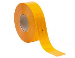Лента светоотражающая 3М Diamond Grade 997-71 54мм/1м желтая для маркировки тентов - интернет-магазин tricolor.com.ua