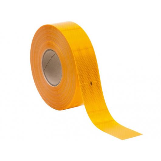 Лента светоотражающая 3М Diamond Grade 997-71 54мм/50м желтая для маркировки тентов - интернет-магазин tricolor.com.ua