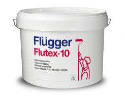 Краска латексная Flugger Flutex 10 (Base 4), база под колеровку