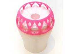 Влагопоглотитель Воложка со сменным картриджем розовый - изображение 3 - интернет-магазин tricolor.com.ua