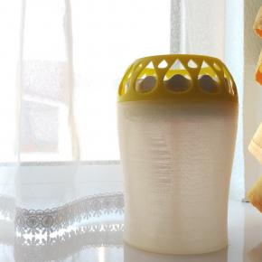 Влагопоглотитель Воложка со сменным картриджем желтый - изображение 2 - интернет-магазин tricolor.com.ua