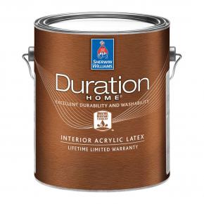 Краска акриловая Sherwin-Williams Duration Home Interior Acrylic Latex Matte Extra White матовая