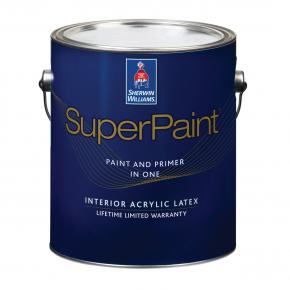 Краска латексная интерьерная Sherwin-Williams SuperPaint Satin Deep полуматовая