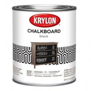Краска грифельная Sherwin-Williams Chalkboard Paint Brush-On черная
