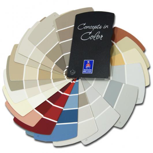 Каталог цветов Sherwin-Williams Fan Deck Concepts in Color