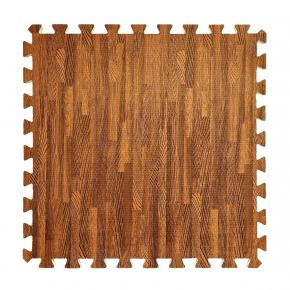 Модульное напольное покрытие пол пазл 600*600*10 MP1 красное дерево - интернет-магазин tricolor.com.ua