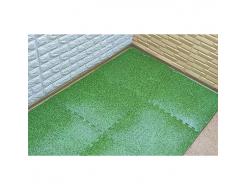 Модульное напольное покрытие пол пазл 600*600*10 MP4 зелена трава - изображение 2 - интернет-магазин tricolor.com.ua