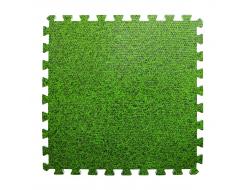 Модульное напольное покрытие пол пазл 600*600*10 MP4 зелена трава - интернет-магазин tricolor.com.ua