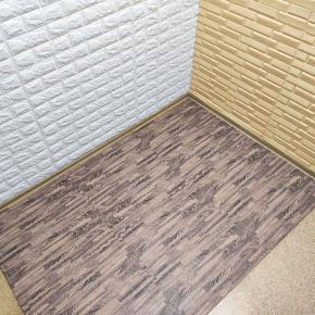 Модульное напольное покрытие пол пазл 600*600*10 MP6 коричневое дерево - изображение 2 - интернет-магазин tricolor.com.ua