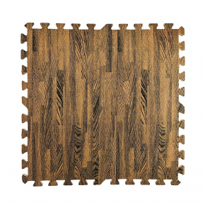 Модульное напольное покрытие пол пазл 600*600*10 MP6 коричневое дерево - интернет-магазин tricolor.com.ua