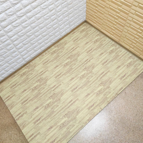 Модульное напольное покрытие пол пазл 600*600*10 MP7 желтое дерево - изображение 3 - интернет-магазин tricolor.com.ua