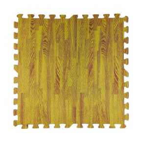 Модульное напольное покрытие пол пазл 600*600*10 MP7 желтое дерево - интернет-магазин tricolor.com.ua