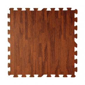 Модульное напольное покрытие пол пазл 600*600*10 MP10 темное дерево - интернет-магазин tricolor.com.ua