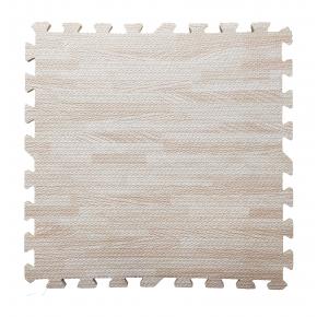 Модульное напольное покрытие пол пазл 600*600*10 MP12 светлое дерево - интернет-магазин tricolor.com.ua