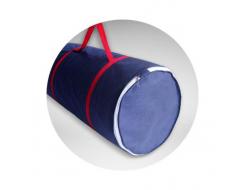Топпер EuroSleep Slim Super strong 70х190 жаккард с резинками-фиксаторами - изображение 2 - интернет-магазин tricolor.com.ua