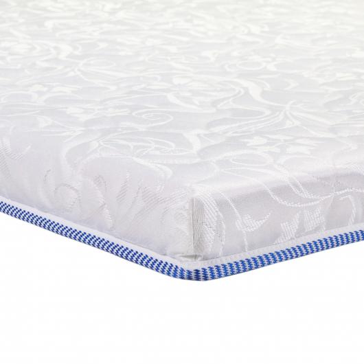 Топпер EuroSleep Slim Cocos comfort 80х190 жаккард с резинками-фиксаторами - изображение 3 - интернет-магазин tricolor.com.ua