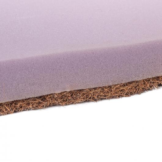 Топпер EuroSleep Slim Cocos comfort 80х190 жаккард с резинками-фиксаторами - изображение 5 - интернет-магазин tricolor.com.ua