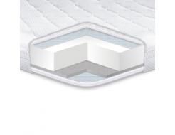 Топпер EuroSleep Standart Dual 70х190 с резинками-фиксаторами - интернет-магазин tricolor.com.ua
