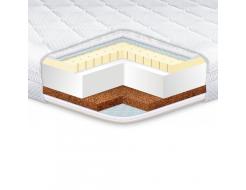 Топпер EuroSleep Standart Cocos latex 160х200 с резинками-фиксаторами