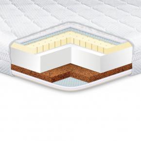 Топпер EuroSleep Standart Cocos latex 180х200 с резинками-фиксаторами