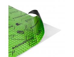 Виброизоляционный материал Acoustics Profy 1.8 0,37м*0,5м фольга 100 мкм - интернет-магазин tricolor.com.ua