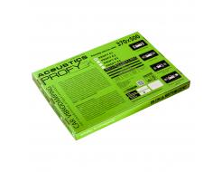 Виброизоляционный материал Acoustics Profy 1.8 0,37м*0,5м фольга 100 мкм - изображение 2 - интернет-магазин tricolor.com.ua