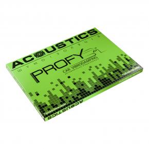 Виброизоляционный материал Acoustics Profy 1.8 0,37м*0,5м фольга 100 мкм - изображение 3 - интернет-магазин tricolor.com.ua