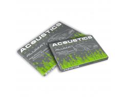 Виброизоляционный материал Acoustics Alumat 1.6 0,37м*0,5м фольга 100 мкм - изображение 3 - интернет-магазин tricolor.com.ua