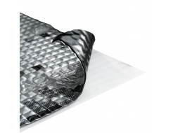 Виброизоляционный материал Acoustics Alumat 2.2 0,37м*0,5м фольга 100 мкм - интернет-магазин tricolor.com.ua