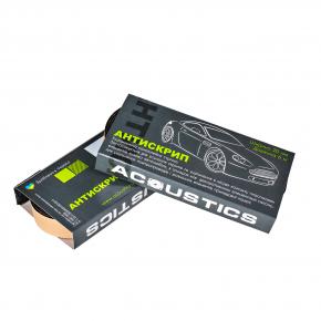 Антискрип Acoustics 2 см*6 м уплотнительный в виде лент картон