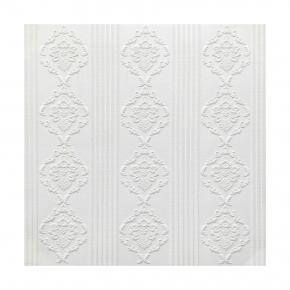 Самоклеящаяся декоративная 3D панель «Белая» #111