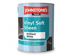 Краска интерьерная виниловая Johnstones Vinyl Soft Sheen полуглянцевая белая