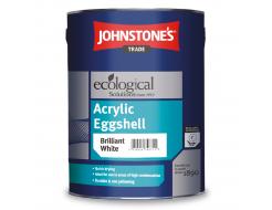 Краска интерьерная акриловая Johnstones Acrylic Eggshell шелковисто-матовая белая