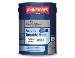 Краска интерьерная акриловая Johnstones Acrylic Durable Matt матовая белая