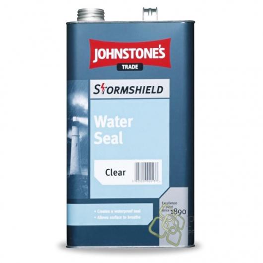 Защитное водоотталкивающее средство Johnstones Stormshield Water Seal для фасадов бесцветное