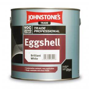 Краска алкидная Johnstones Eggshell по дереву, штукатурке и металлу полуматовая белая