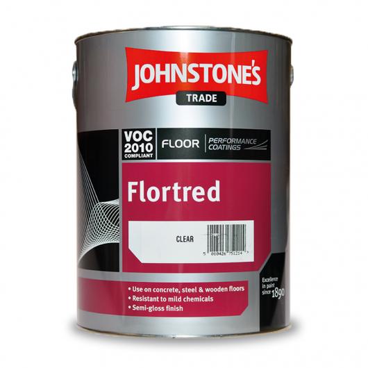Краска для пола Johnstones Flortred на растворителе прозрачная